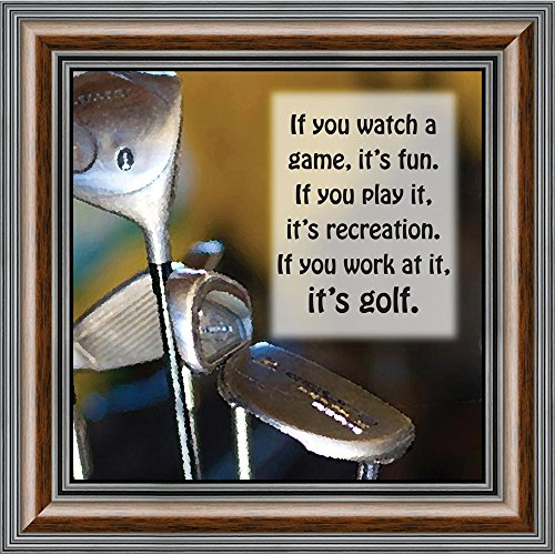 (Elegantly Yours Golf, Funny Golf Gifts for Men Picture Frame, 10X10 8511W)