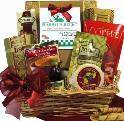 Delight Expressions™ Morning Delights Gourmet Food Gift Basket- A Birthday Gift Idea!
