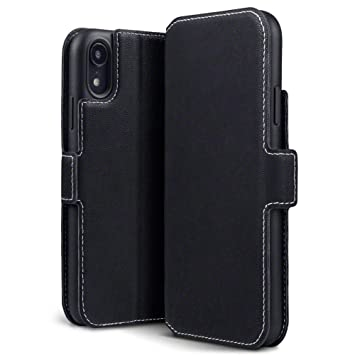 info for e7614 12e62 TERRAPIN, Compatible with iPhone XR Case, Slim Fit Leather Wallet Flip  Cover with Stand - Black