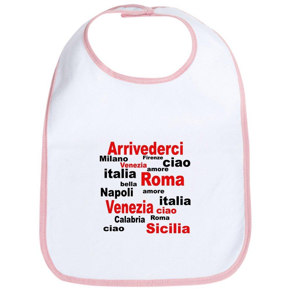 CafePress - Italian sayings Bib - Cute Cloth Baby Bib, Toddler Bib