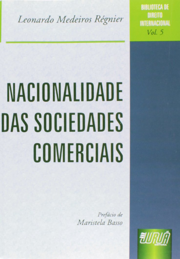 Download Nacionalidade Das Sociedades Comerciais PDF