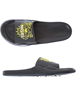 3620659d9 Kenzo Mens Papaya Sliders Blue: Amazon.co.uk: Shoes & Bags