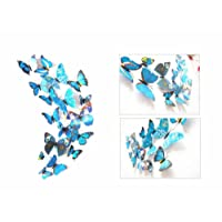 12 Pieces 3D Butterfly Stickrs Fashion Design DIY Wall Decoration House Decoration Babyroom Decoration by BByu
