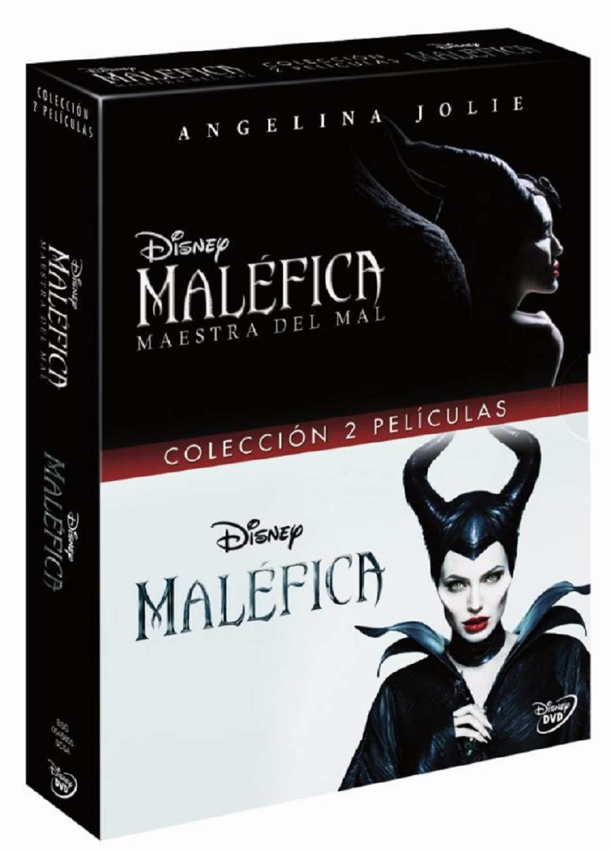 Pack DVD Maléfica Maestra del Mal + Malefica: Amazon.es: Angelina ...