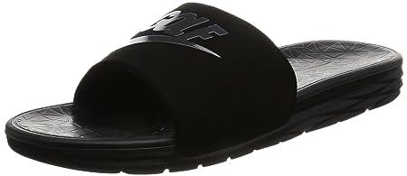 sports shoes da415 2db14 NIKE Benassi Solarsoft 2 Men s Golf Slides (Black, 13.0 D(M) US