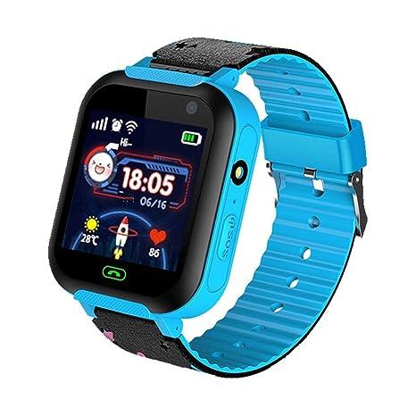 iStary Reloj Infantil Smartwatch para Niños Posicionamiento con Llamada Toque HD Pantalla Despertador Compatible Locator Menor