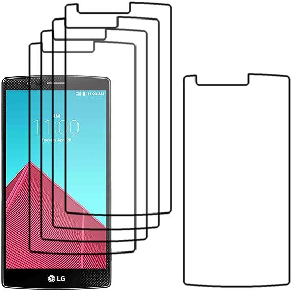 ebestStar - Pack x5 Protector Pantalla Compatible con LG G4 H815 ...
