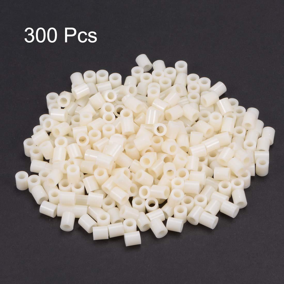 uxcell 150pcs Nylon Round Straight Pillar Insulating Tube PCB Spacer Standoffs 4x7x8mm