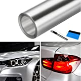 NewL Clear Bra Paint Protection Bulk Vinyl Wrap Film Including 3M Squeegee and Black Felt Applicator (50cm x 300cm)