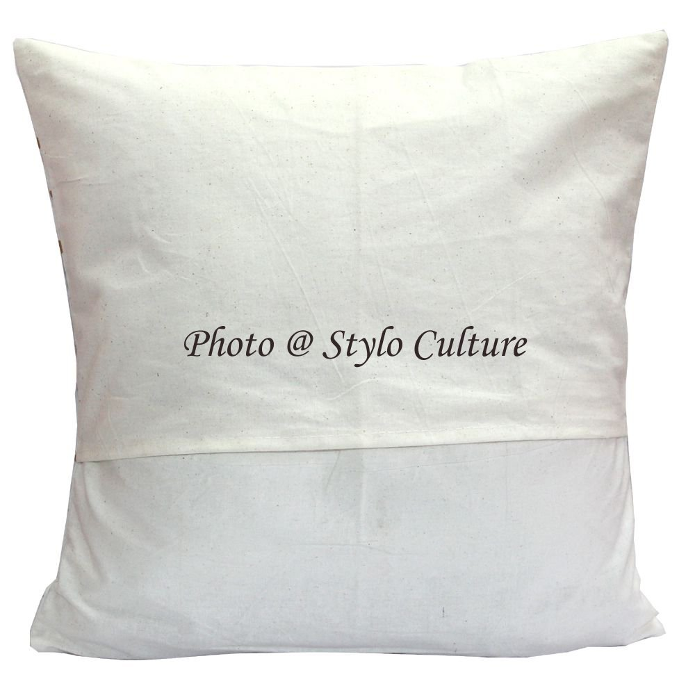 Stylo Culture Cojines Decorativos étnicos para la Cama Azul Impreso ...