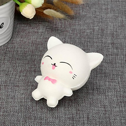 TiTCool_toy Funny Squeeze Squishy Cartoon Cat Slow Rising Scented Relieve Stress Toy Gifts by TiTCool_toy (Image #2)