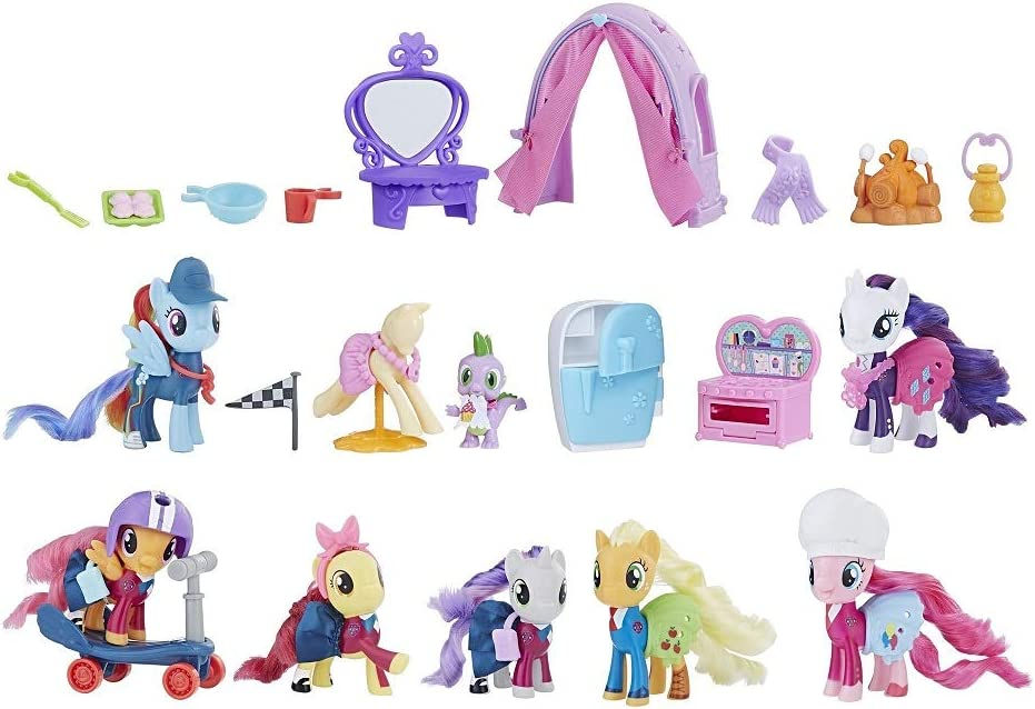 My Little Pony Exclusive School of Friendship Collection Pack: Amazon.es: Juguetes y juegos