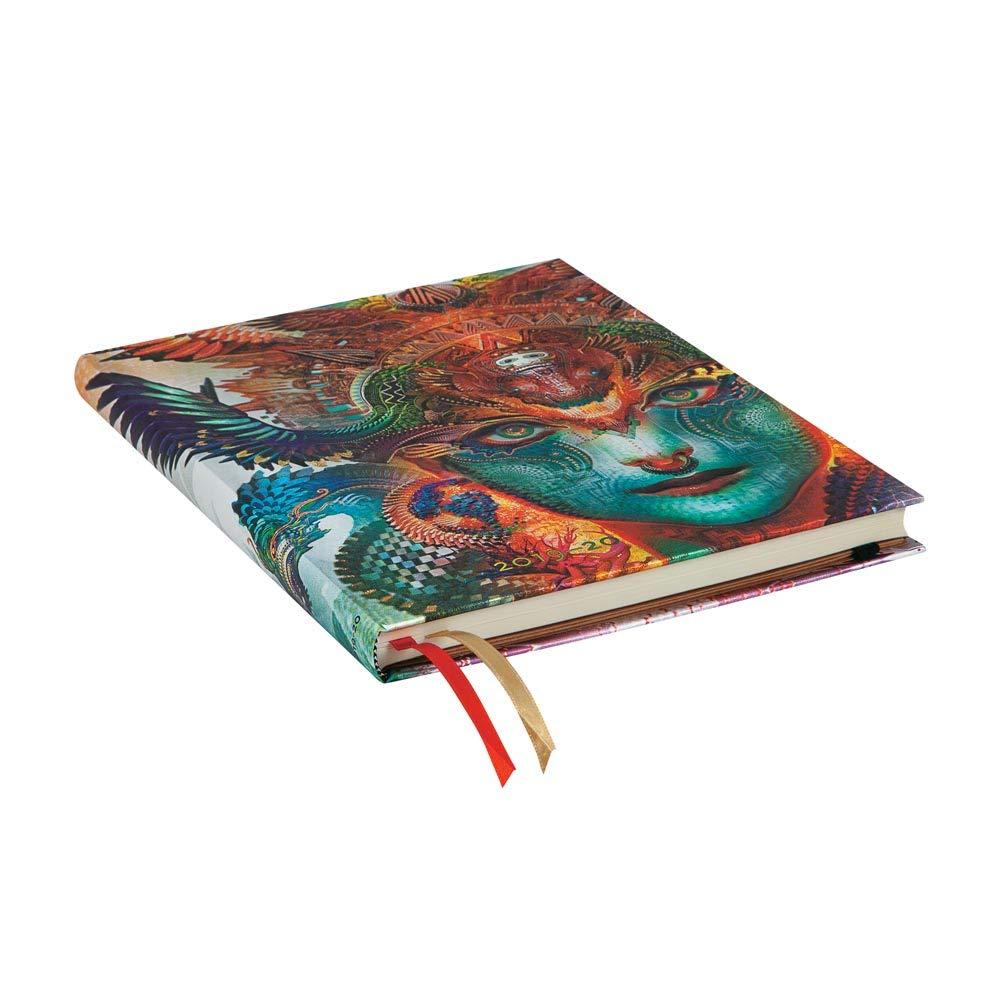 Dharma vertical juillet 2019 D/écembre 2020 - Ultra 230 x 180 mm semaine par semaine Paperblanks Agenda 18 mois et calendrier