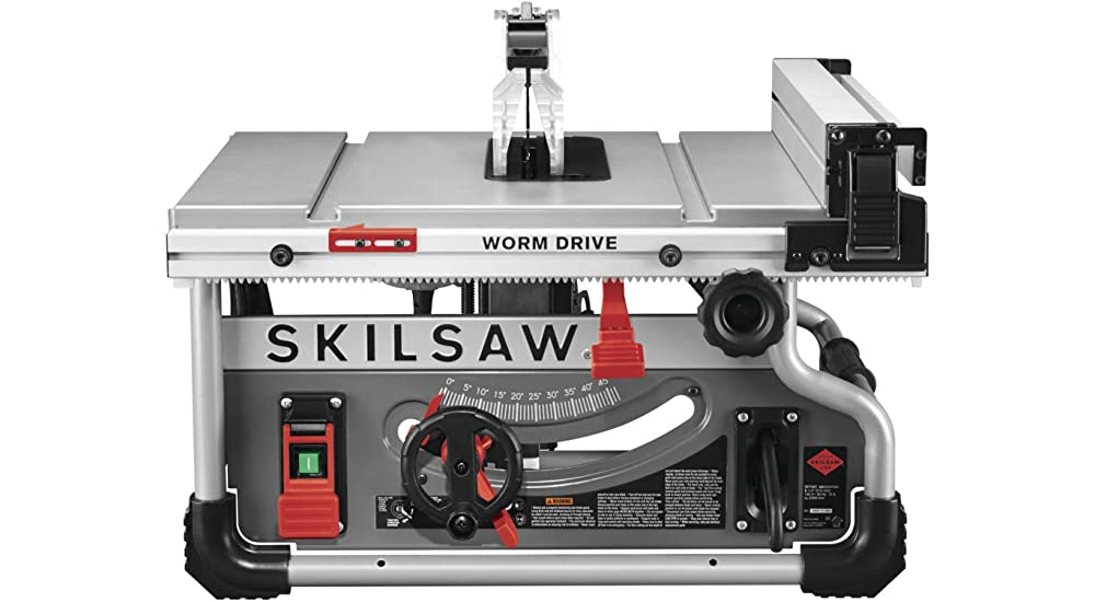 SKILSAW SPT99T Portable Worm Drive Table Saw