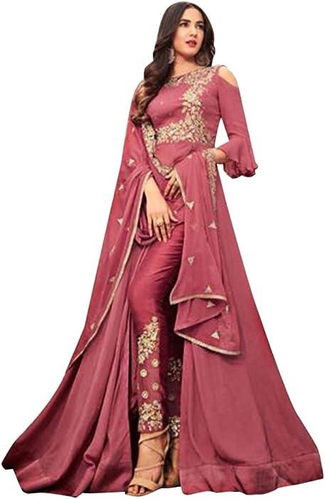 7aa378866b7c0 Bollywood Wedding Wear Collection Anarkali Salwar Suit Ceremony Muslim  Dress Ethnic Emporium 765 at Amazon Women s Clothing store