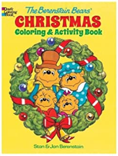 the berenstain bears christmas coloring and activity book dovor coloring books for children - Berenstain Bears Coloring Book