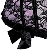Zhitunemi 815 Women's Lace Through Top Floral