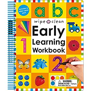 Wipe Clean: Early Learning Workbook (Wipe Clean Learning Books)