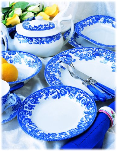 Spode Delamere Blue Tableware Collection  sc 1 st  Amazon.com & Amazon.com   Spode Delamere Blue Tableware Collection: Dinnerware ...