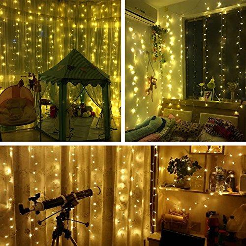 Cadena de Luces LED,MORECOO 33ft/10M Cadena Led de Luces, Impermeable Luces de la secuencia ,Perfecta para decoración de Hogar, Juego,Boda,Navidad y Otras Fiestas etc.(Blanco cálido)