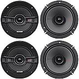(4) Kicker 44KSC6504 KSC650 6.5 400 Watt 2-Way Car Audio Speakers KSC65