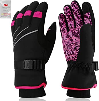 Winter Touchscreen Gloves Windproof Waterproof Thermal Skiing Riding Photography