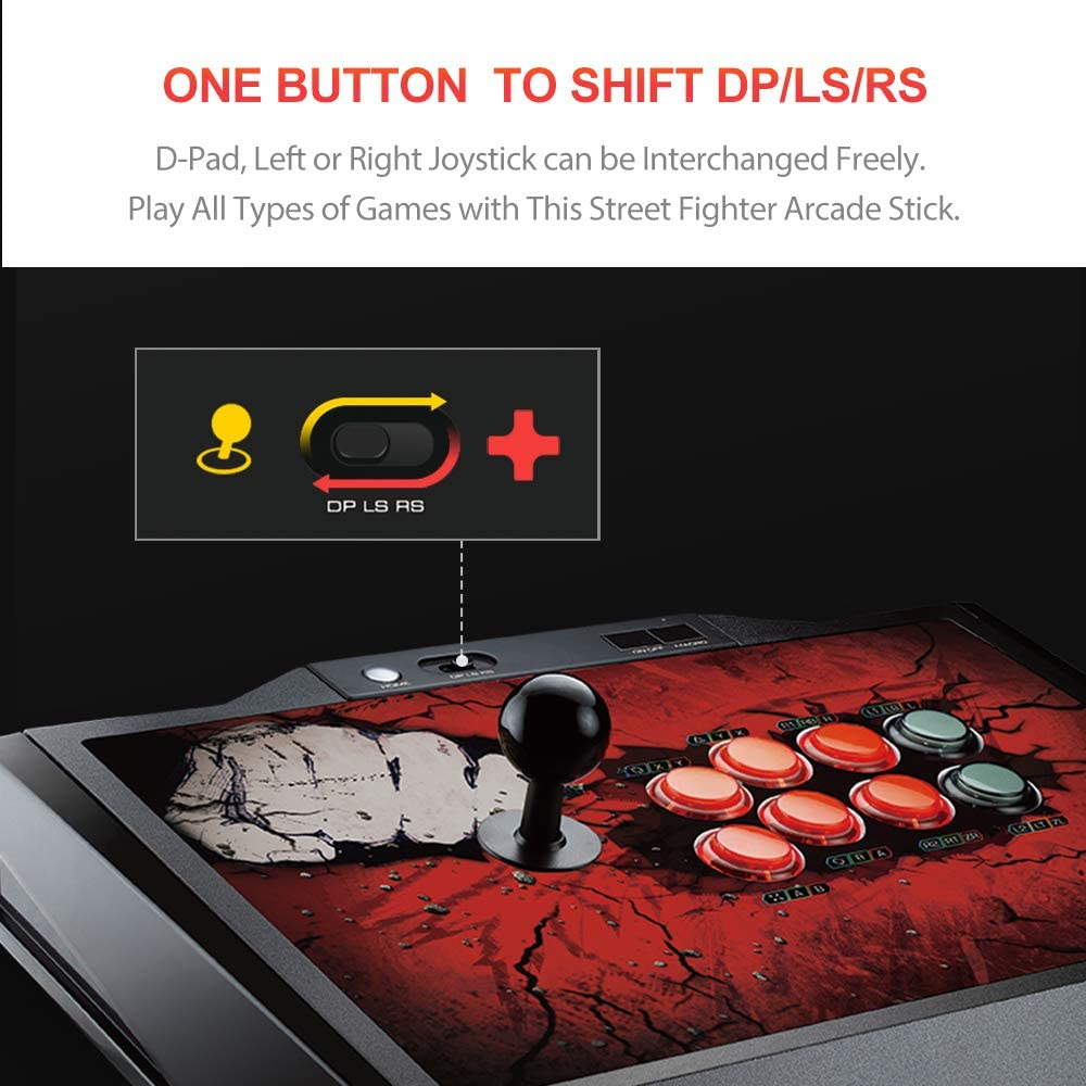 Arcade Fight Stick Pxn X9 Pro Usb Wired Joystick Game Computers Accessories
