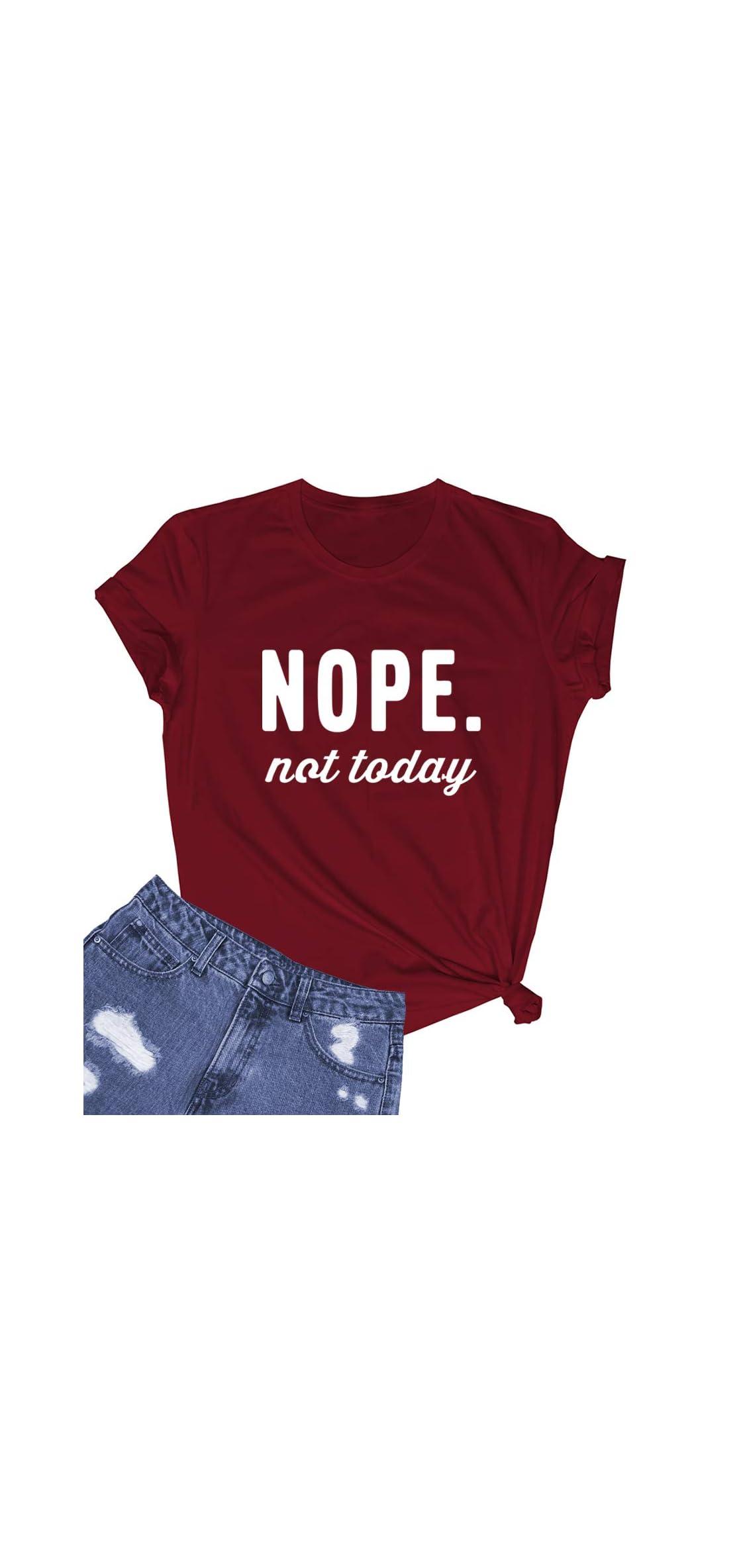 Women's Cute Juniors Tops Teen Girl Tee Funny T Shirt
