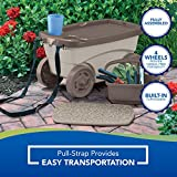 Suncast Outdoor Rolling Garden Scooter - Durable
