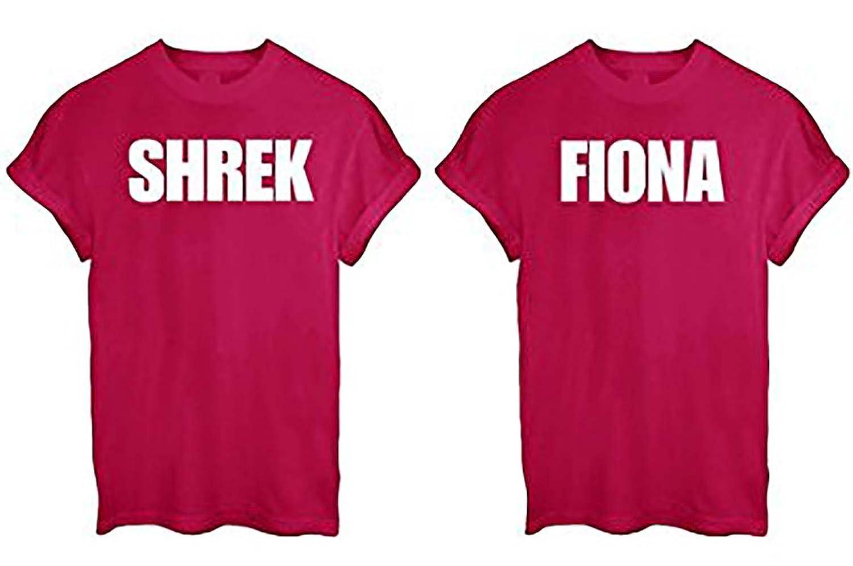 Shrek Couple Shirts - Shrek and Fiona Shirts t9jL0nv