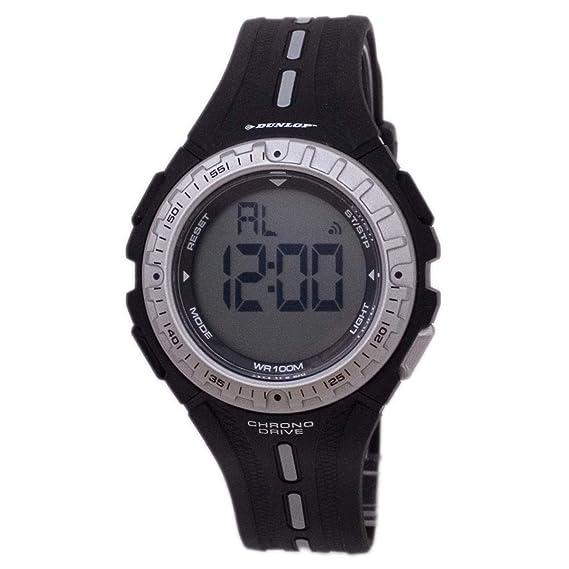 Dunlop Reloj Digital para Hombre de Automático con Correa en Resina DUN-140-L01: Amazon.es: Relojes