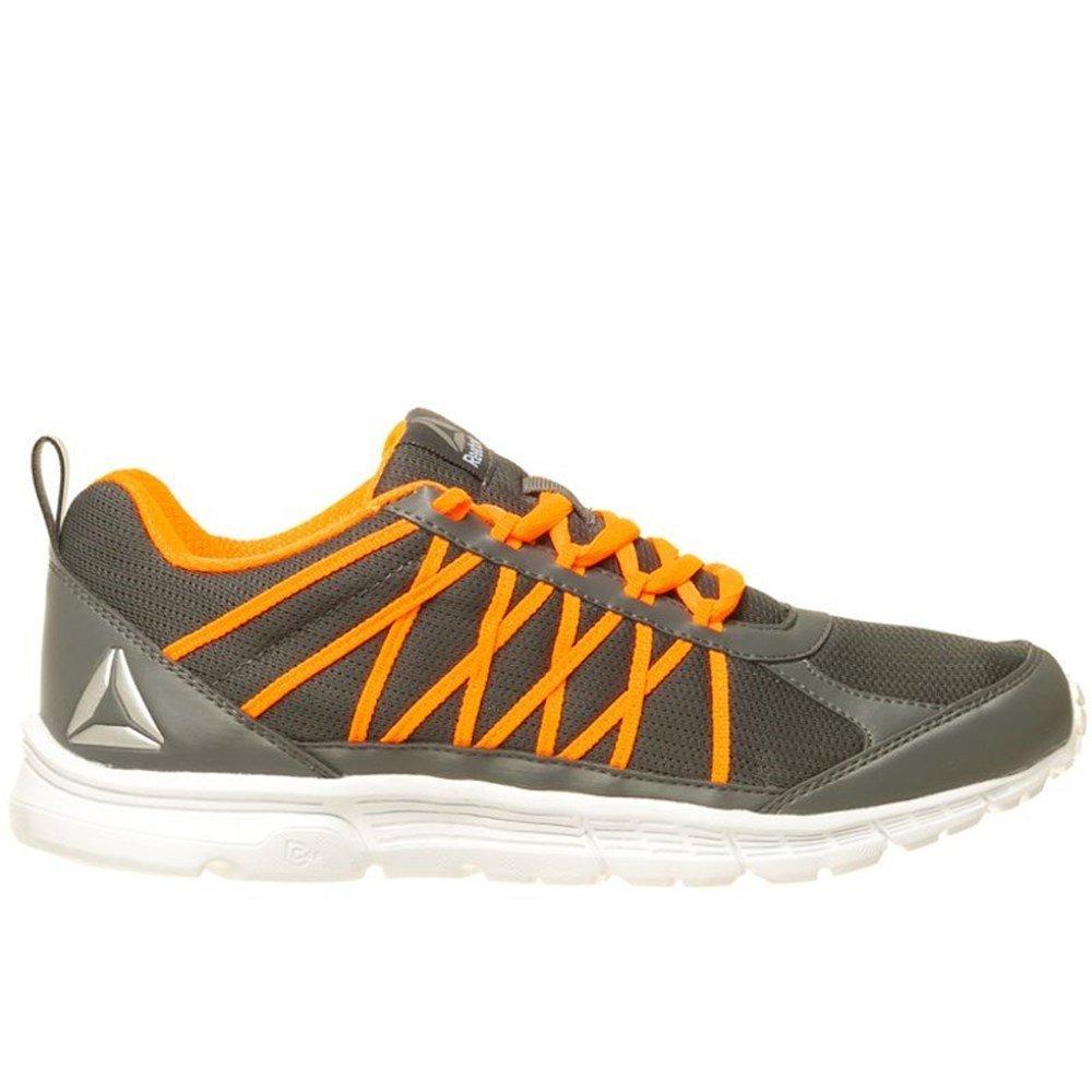 Reebok Bd3992, Zapatillas de Trail Running para Hombre 45.5 EU|Gris (Gris (Alloy / Wild Orange / White / Black / Pewter)
