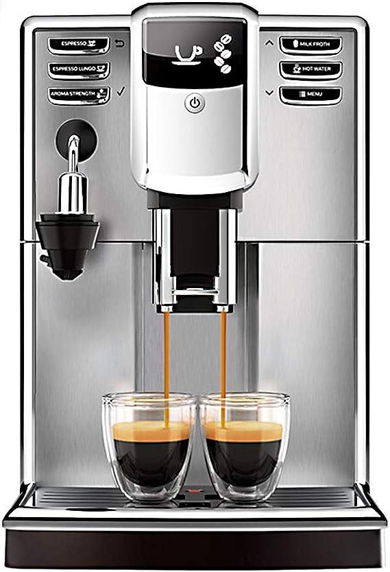 KOKOF Cafeteras domésticas,Cafetera Office Home - Cafetera automática Italiana - Recipiente para Leche con Sistema de Espuma automático - Cafetera: Amazon.es: Hogar