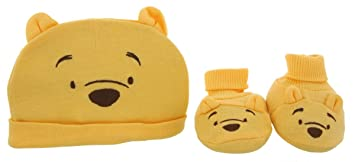 Image Unavailable. Image not available for. Color  Disney Baby Winnie The  Pooh Infant Cap ... 0eb08c4d437