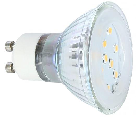 3 W 220 V Bombilla LED de luz, GU10, 218lm. 110 grados de