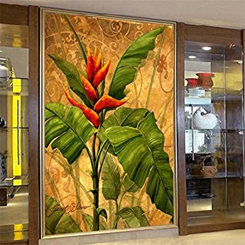 250 CmX 175 Cm Großen Bildschirm Custom Wallpaper Flash Wandmalerei  Wohnzimmer Southeast Museum Banana Tree Yoga