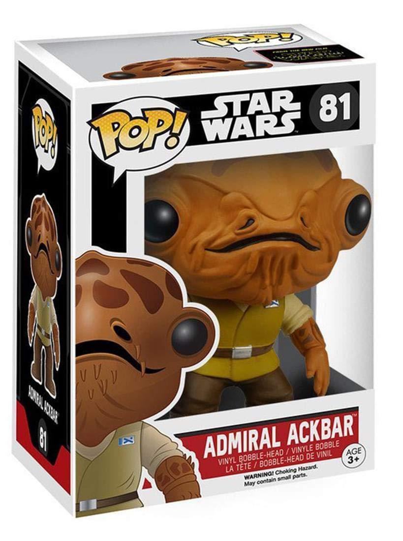 Funko POP Star Wars: Episode 7 - Admiral Ackbar Action Figure