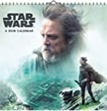 Star Wars Episode VIII The Last Jedi 2018 Deluxe Calendar