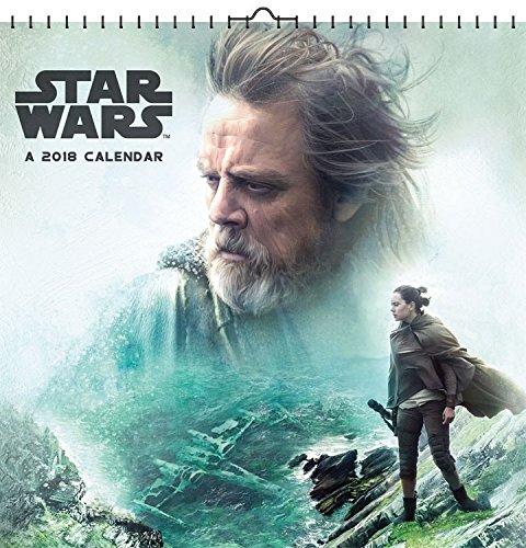 Star Wars Episode VIII The Last Jedi 2018 Deluxe Calendar