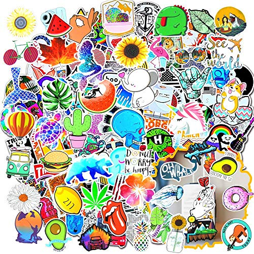 🥇 Cute Laptop Stickers for Girls 50Pcs