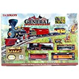 Bachmann Industries The General Ready to Run Electric Train Set