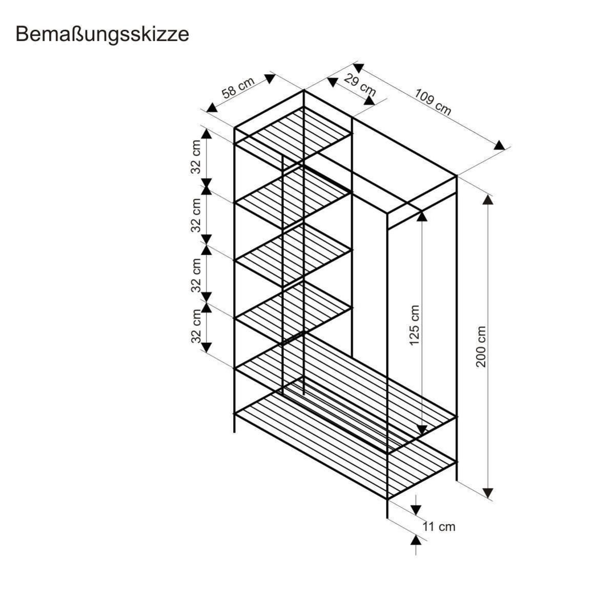 Kleiderschrank Breezy: Side extension with sloped glass roof ...