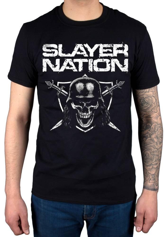 Slayer Nation 2014 Dates Tshirt