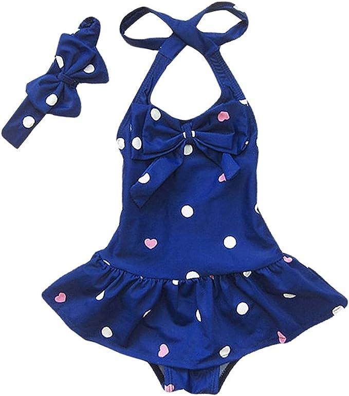 OBEEII Toddler Kids Floating Buoyancy Swimming Training Costume One Piece Swimsuit Bathing Suit Floatation Swimwear for Baby Boy Girl Age 1 to 6 Years