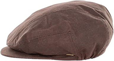 Hat Made in Ireland Mucros Black Wax Kerry Flat Cap