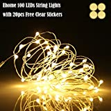 Best Lights Fairies - Ehome 100 LED 33ft/10m Starry Fairy String Light Review