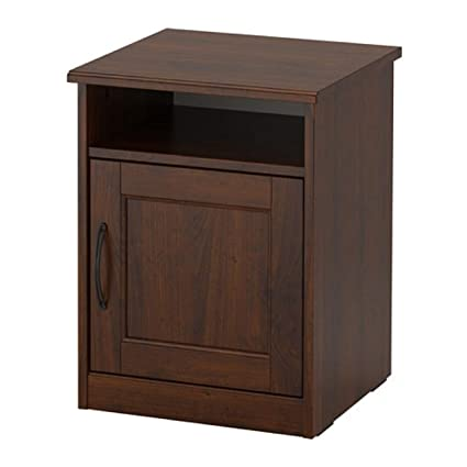 Amazon.com - IKEA Songesand Nightstand Brown 703.674.44 Size ...