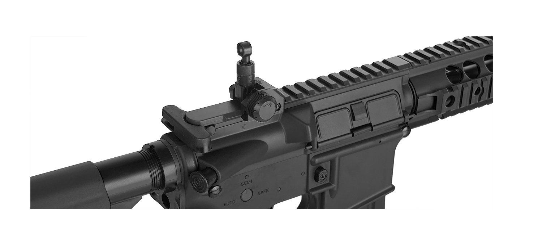 Amazon.com: Lancer Tactical AEG SR-16 rifle de aire ...