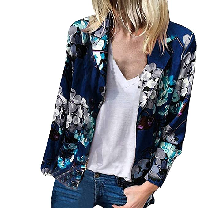 giacche blu da ragazza eleganti