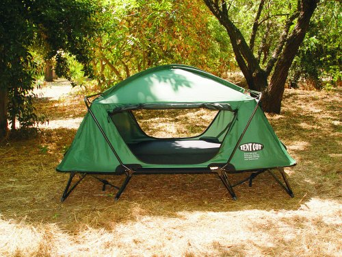 Amazon.com K&-Rite Tent Cot Double Tent Cot (Green) Sports u0026 Outdoors & Amazon.com: Kamp-Rite Tent Cot Double Tent Cot (Green): Sports ...